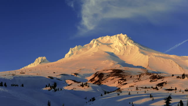 Mount Hood timelapse