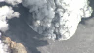 Mount Ontakesan in central Japan erupted on September 27 2014 in Japan