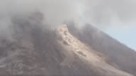 Mount Sinabung spews volcanic materials from its crater in Tanah Karo North Sumatra Indonesia on June 16 2015 Nearly 1200 residents were being...