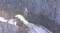 AERIAL, Mount Zao In Winter, Japan