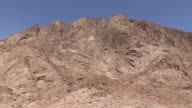 WS HA TD Mountain and rooftops of St Catherine's Monastery, Mount Sinai, Egypt