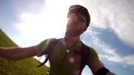 Mountain Bike Video: biker view