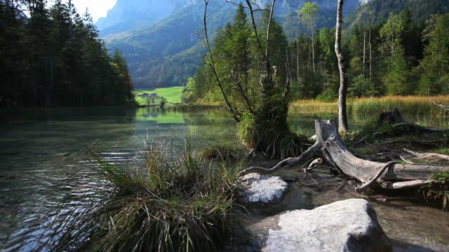 Mountain Lake in Fall (Loopable)