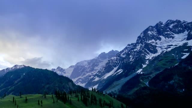 Mountain Landscape and Cloudscape