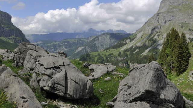 mountain landscape, sunny summer day