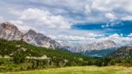 Mountain landscape time lapse