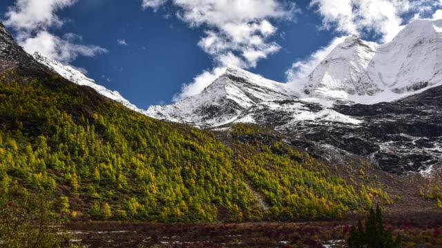 Berg, Yading nationaal niveau behouden, Daocheng, Sichuan Province, China.