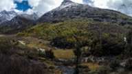 Mountain peak, Yading national level reserve, Daocheng, Sichuan Province, China.