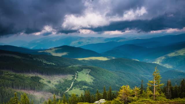 TIME LAPSE: Mountain Range