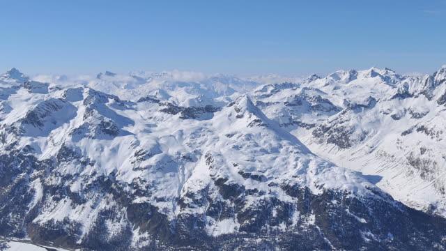 mountain range, winter