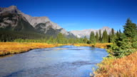 Mountain river in the Canadian Rockies