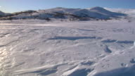 Mountain snow blow