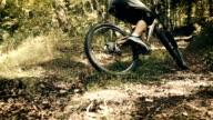 Mountainbike in Slow Motion