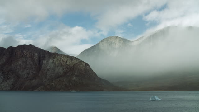 Mountains And Fjord On Baffin Island