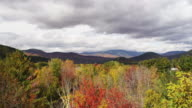 Mountains and foliage time lapse New Hampshire