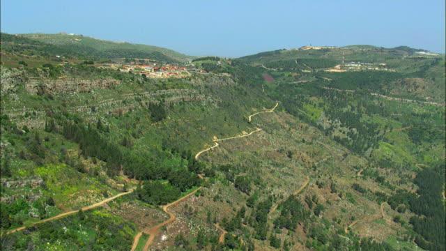 AERIAL Mountains of Naftali / Israel