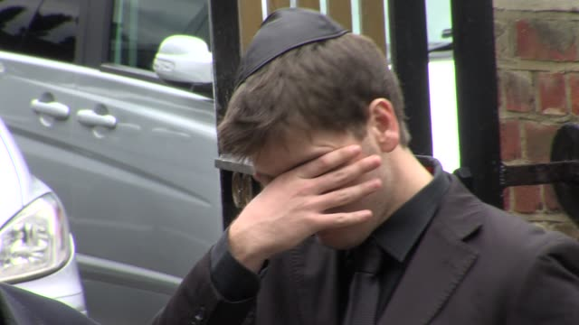 Mourner at the Amy Winehouse Funeral Service at London London