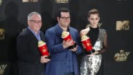 Movie And TV Awards Press Room in Los Angeles CA