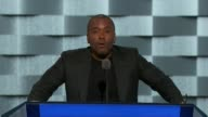 Movie Director Lee Daniels discusses gun violence at the convention telling delegates that he is not sure if Hillar Clinton really know who he is...