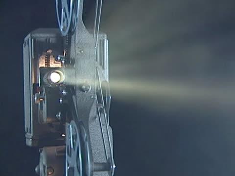 film Proiettore cinematografico con video