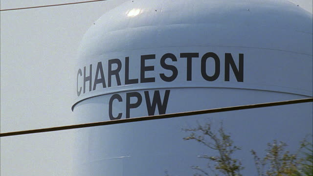 RPOV Moving away from the Charleston CPW water tank / Charleston, South Carolina, United States