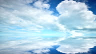 Moving Cloud reflection surface