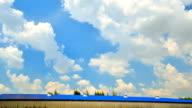 Moving cloud Time Lapse 4K