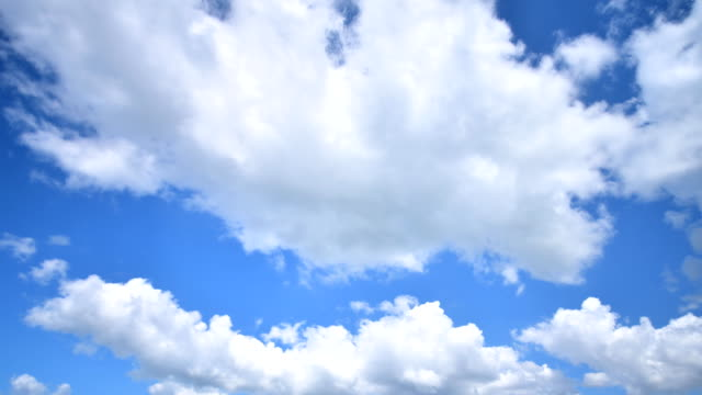 Moving Cloud Time Lapse