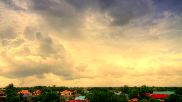Moving clouds Timelapse(HDR)