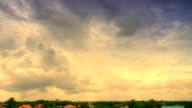 Bewegte Wolken Zeitraffer (HDR)
