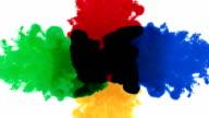 Bewegung Farbe