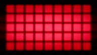 Moving led lights panel