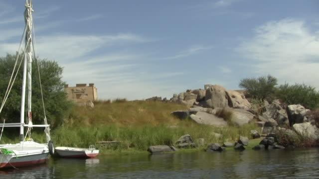 POV, Moving on Nile River, Aswan, Egypt