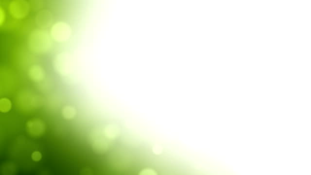 Moving Particles Loop - Green Corner (HD 1080)
