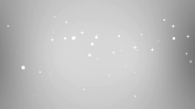 Moving Particles Loop - Star Grey Motion Background