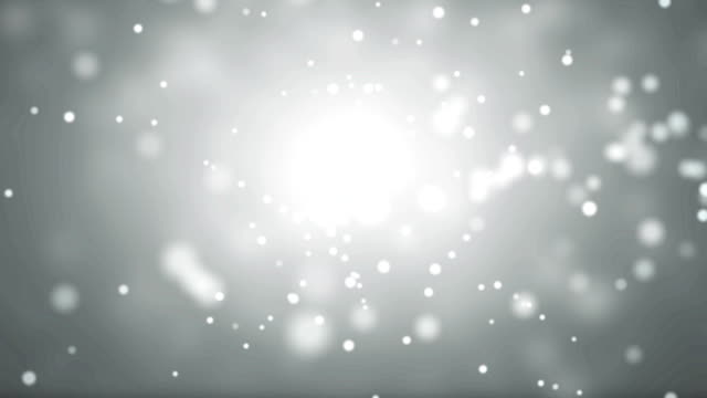 Moving Particles - white.