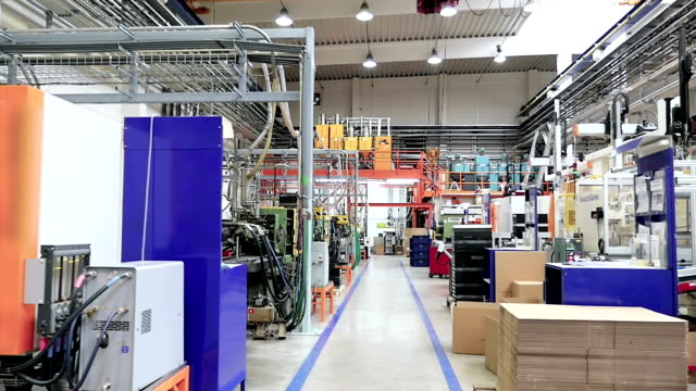 Moving toward in industrial production line