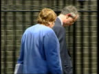 Mowlam's comments on Royal Family casue political row fLTN LAUREN London Downing Street EXT Mo Mowlam MP along with other London INT Mowlam along...