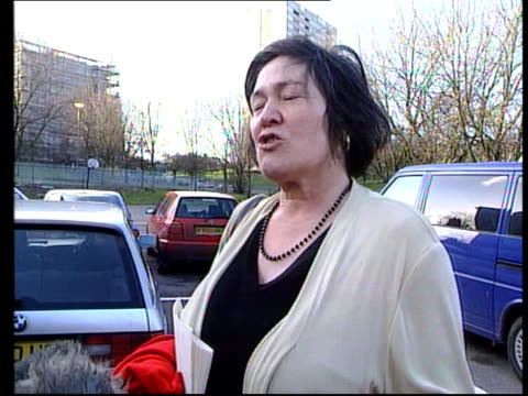 London Clare Short MP towards through car park speaks to press SOT Way out of proportion there is an interesting question of whether the MOD should...