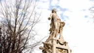 Statua di Mozart Vienna-Time Lapse