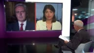 MPs approve tax credit cuts despite Labour opposition ENGLAND London GIR INT Seema Malhotra MP in Westminster and Mark Garnier MP in House of Commons...
