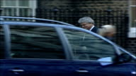 MPs arrive for special 'Trident' cabinet meeting Des Browne MP along and into number 10 PAN