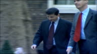 MPs arrive for special 'Trident' cabinet meeting Douglas Alexander MP and Stephen Timms MP along and into number 10