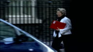 MPs arrive for special 'Trident' cabinet meeting ENGLAND London Downing Street Downing Street Christmas tree is up** Patricia Hewitt MP along and...