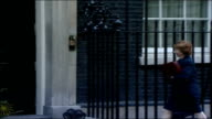 MPs arrive for special 'Trident' cabinet meeting Hazel Blears MP along and into number 10