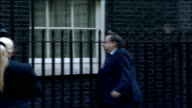MPs arrive for special 'Trident' cabinet meeting Lord Falconer along into number 10