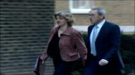 MPs arrive for special 'Trident' cabinet meeting Ruth Kelly MP and John Hutton MP along and into number 10