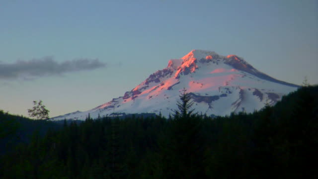 Mt. Hood Sunset time lapse