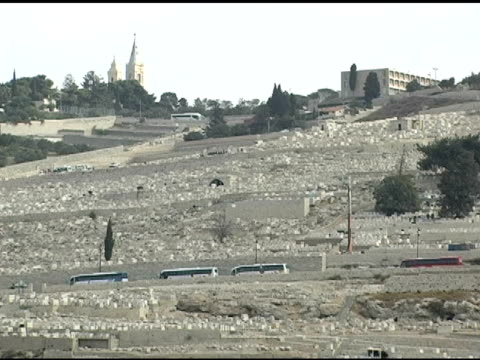 Mt. of Olives in Jerusalem