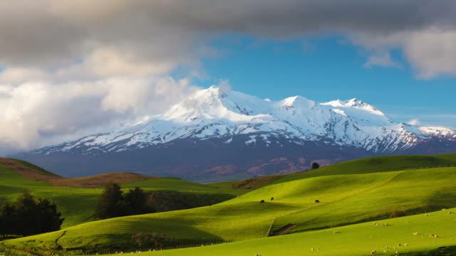 ZEITRAFFER: Ruapehu, Neuseeland